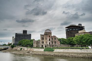 The dome of Hiroshima, Japan, 2019.