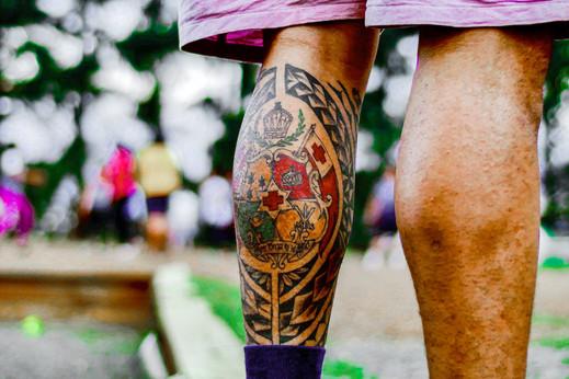 Tongan Tattoo, Tasmania, Australia, 2018.