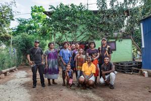 Family portraits, Papua New Guinea, 2019.