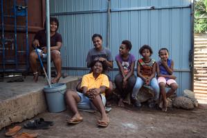 Rhonda, Ruthy, Patricia, Augusta, Revengilla, Papua New Guinea, 2019.