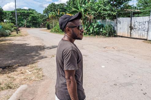 Walk in Gerehu, Papua New Guinea, 2019.