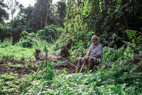 Papa Harrison, Vanuatu, 2019.
