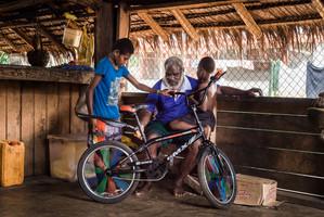 Kino, Harrison, Webson, Hog Harbour, Vanuatu, 2019.
