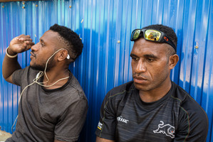 Issac and Yoksi, Papua New Guinea, 2019.