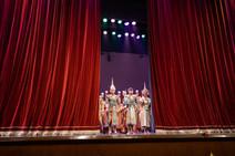 Spectacle de danse Khon, Bangkok, Thaïlande, 2020.