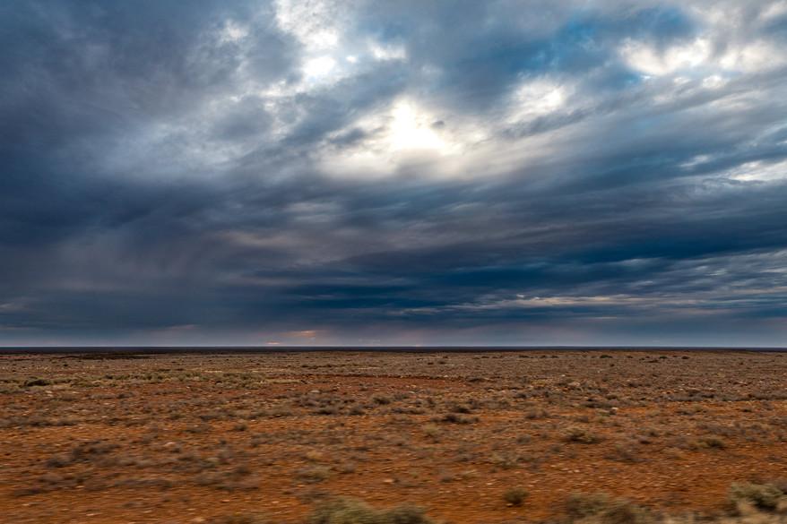 The desert, Australia, 2018.