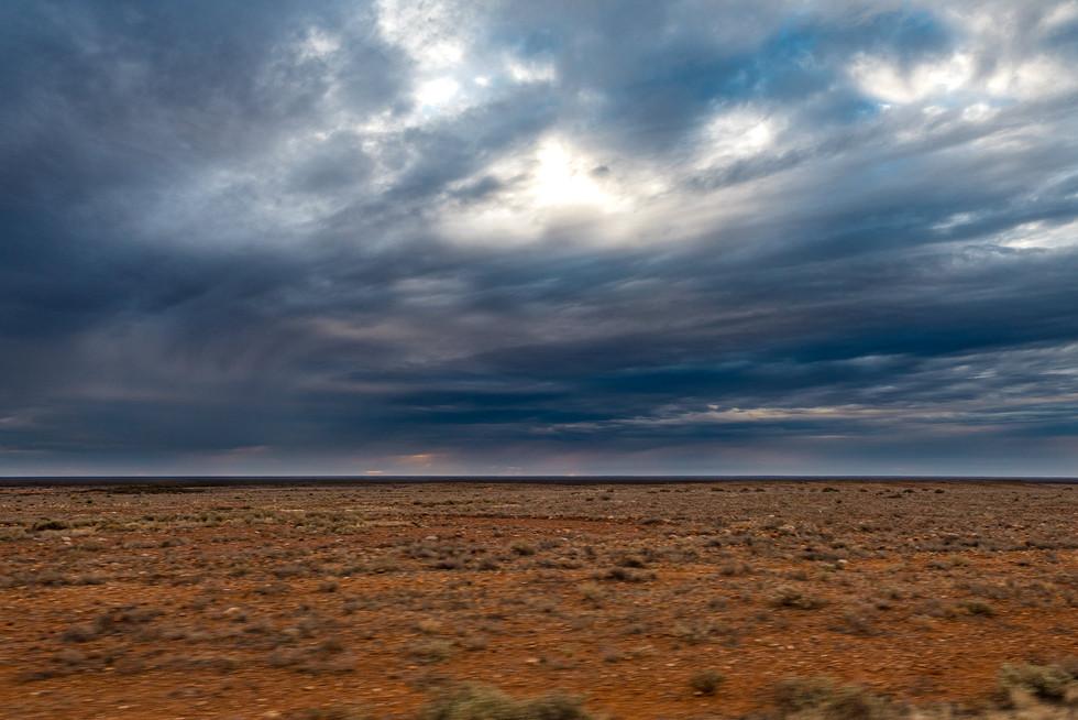 Le désert, Australie, 2018.