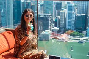 Cocktail haut perché 2, Singapour, 2019.