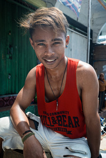 Young man, Tual, Indonesia, 2019.