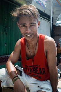 Young man, Tual, Indonesia, 2019.