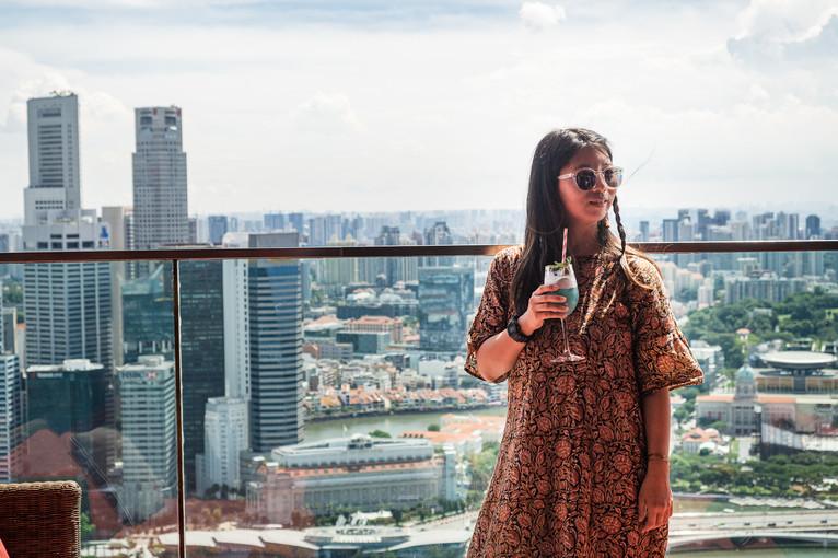 High cocktail, Singapore, 2019.