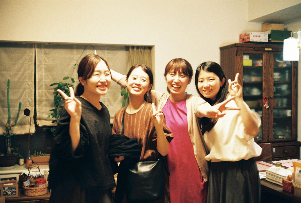Erica, Tamu, Ayano, Nana, Tokyo, Japan, 2019.