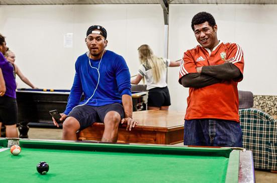 Stidolph et Lui—Tonga, Tasmanie, Australie, 2018.