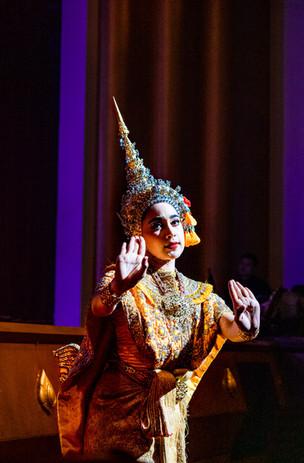 Danse Khon, Bangkok, Thaïlande, 2020.