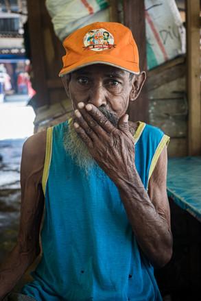 Old man, Tual, Indonesia, 2019.