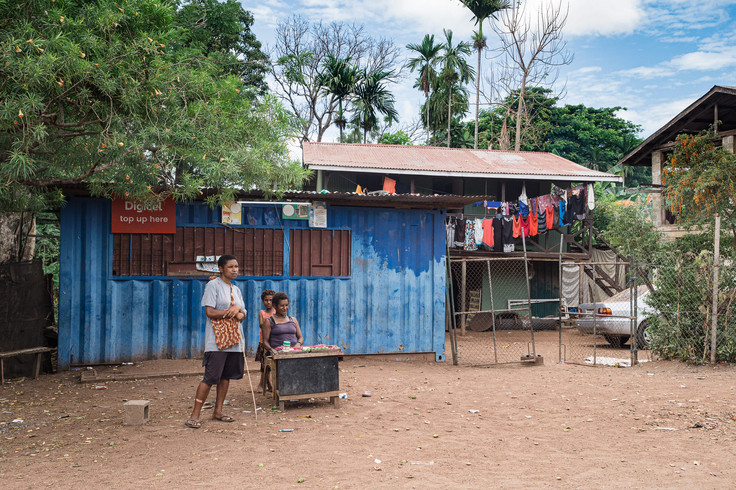 Papuan modern property, Papua New Guinea, 2019.