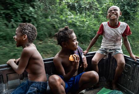 Steve, Janet and Oska, Hog Harbour, Vanuatu, 2019.