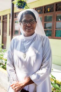 Suster Christiana, Tual, Indonesia, 2019.