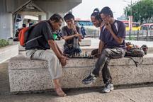Street life of Kuala Lumpur, Malaysia, 2020.
