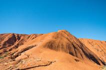 Climbers, Uluru, Australia, 2018.