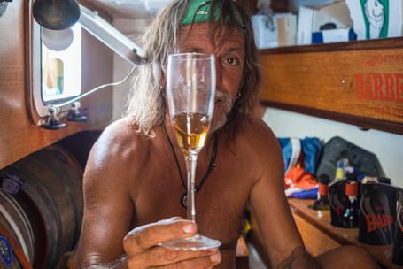 Barbeito's Malvasia tasting, Papua New Guinea, 2019.