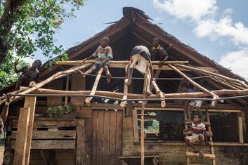 Young carpenters, Hog Harbour, Vanuatu, 2019.