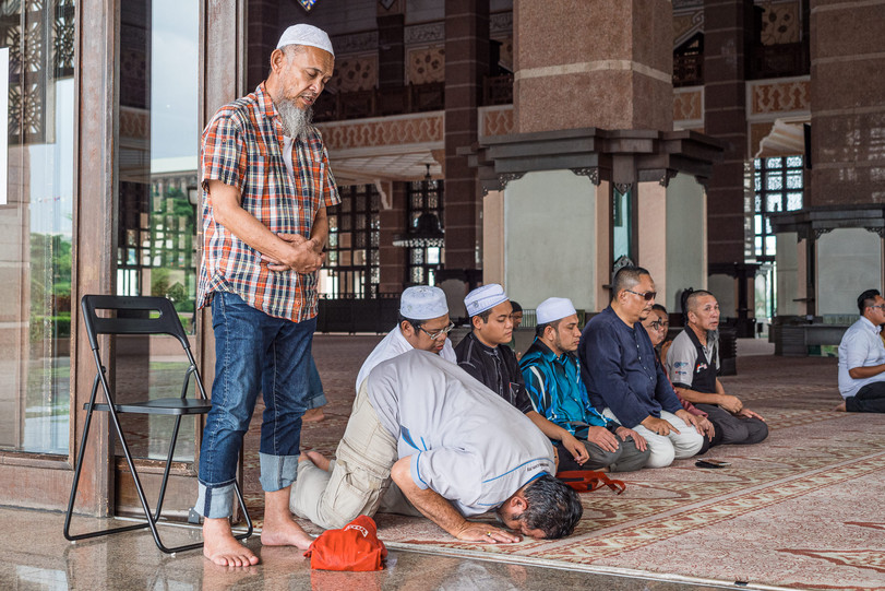 Asr – the late afternoon prayer, Putrajaya, Kuala Lumpur, 2020.