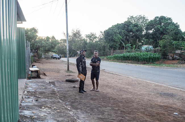 Peter and Yoksi, Papua New Guinea, 2019.