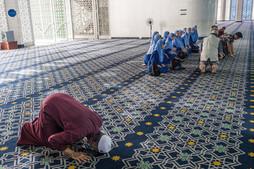 Prayer demonstration, Malaysia, 2020.