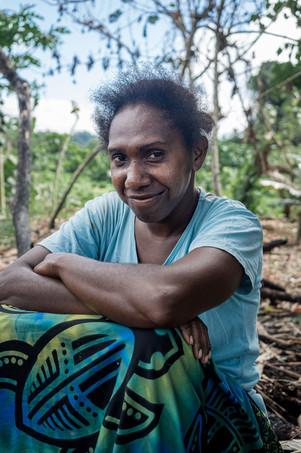 Marie, île de Santo, Vanuatu, 2019.