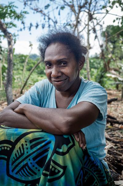 Mary, Santo Island, Vanuatu, 2019.