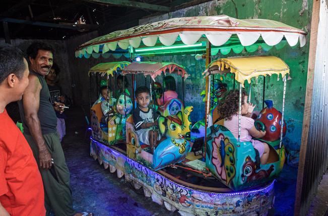 Children's carousel, Tual, Indonesia, 2019.