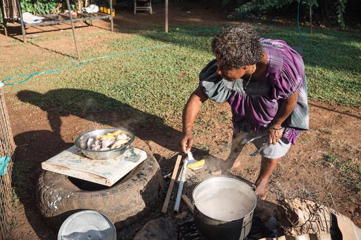 Port Moresby kitchen, Papua New Guinea, 2019.