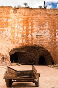 Crocodile harry caves, Coober Pedy, Australia, 2018.