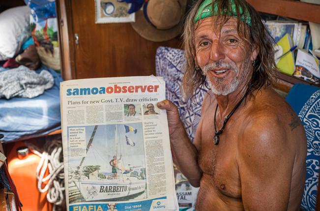 A story of Sofia do mare, Papua New Guinea, 2019.