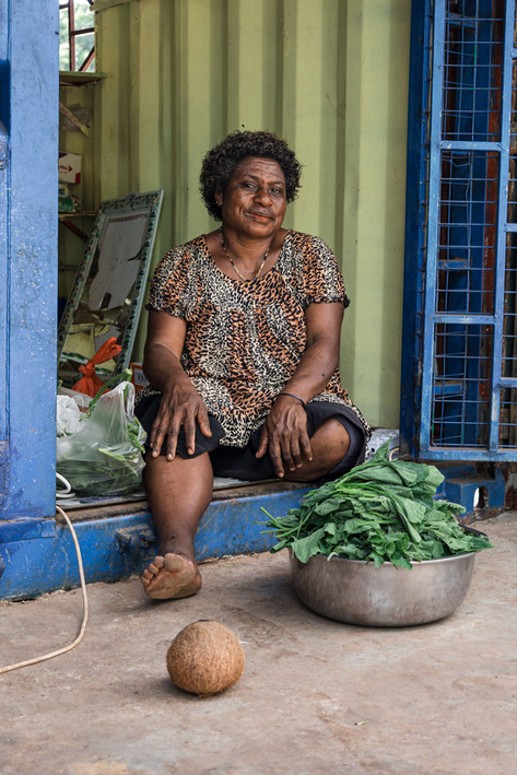 Cathy—PNG, Papua New Guinea, 2019.