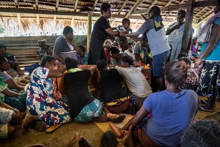 Enterrement, Sara 1, Vanuatu, 2019.