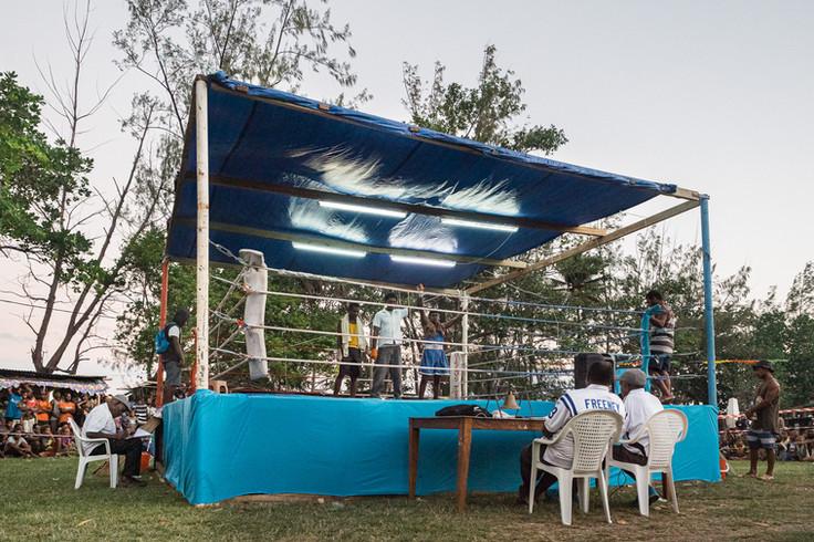 Boxing games, Luganville, Vanuatu, 2019.