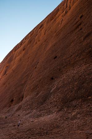 Big cliffs of Kata Tjuta, Australia, 2018.