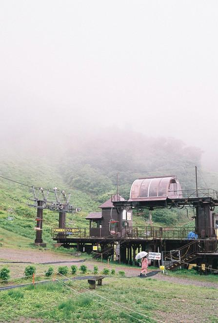 Rope way to Tanigawa Mount, Japan, 2019.