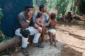 Relaxing, Papua New Guinea, 2019.