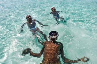 Webson, Calz é, Terry, plage de Lonnoc, Vanuatu, 2019.
