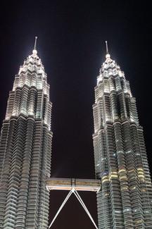 Tours Petronas, Kuala Lumpur, Malaisie, 2020.
