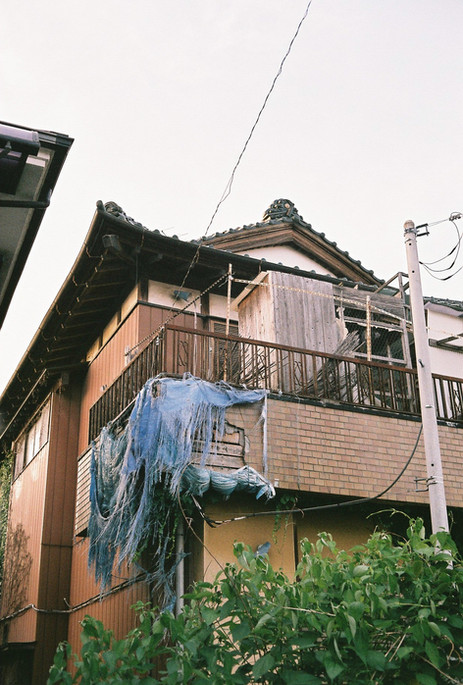 Old house in a Tokyo suburb, Japan, 2019.