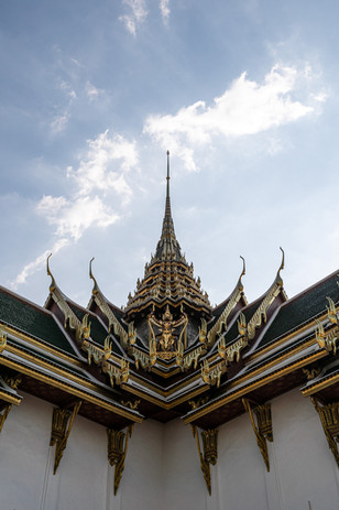 Le grand palais, Bangkok, Thaïlande, 2020.