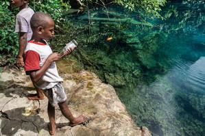 Fishing, Santo Island, Vanuatu, 2019.