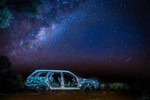 The Milky way, Uluru, Australia, 2018.