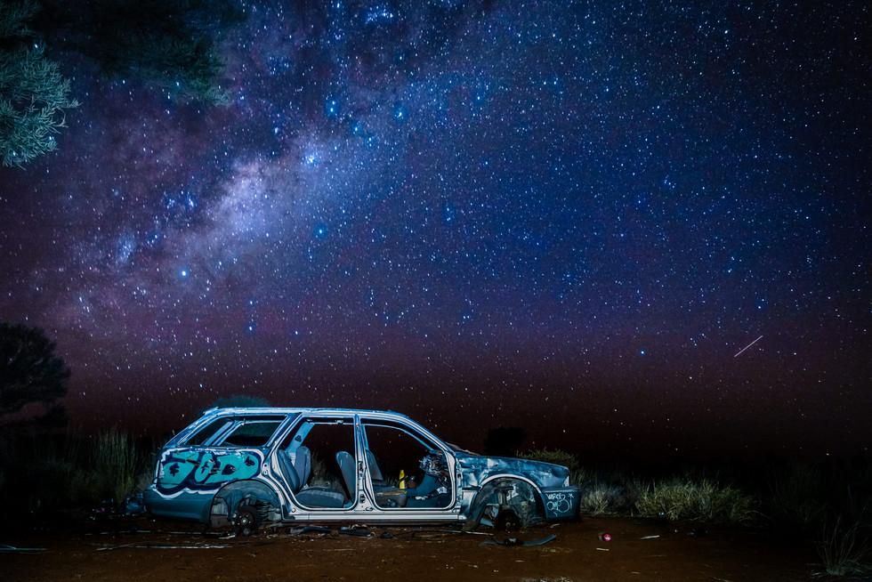 La Voie lactée, Uluru, Australie, 2018.