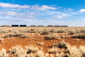 Train, Australie, 2018.