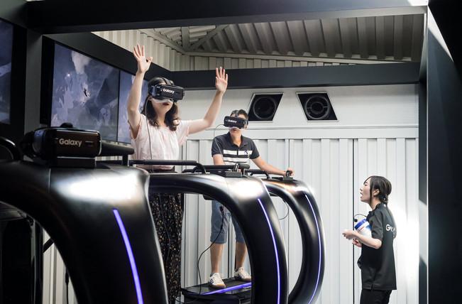 Virtual reality, Tokyo, Japan, 2018.